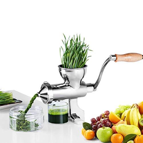 Edelstahl Weizengras Juicer Manuelle Obst und Gemüse Weizen Samen Ingwer Granatapfel Presse Entsafter Manuelle Entsafter, Gewöhnlichen Absatz,1