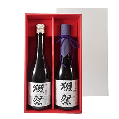 獺祭 飲み比べセット 純米大吟醸 磨き45/23 720ml 2種 獺祭専用紅白ギフトボックス 山口県 旭酒造 日本酒