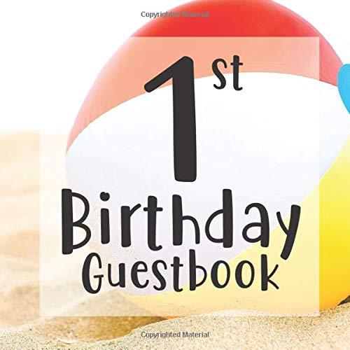 1st Birthday Guest Book:...