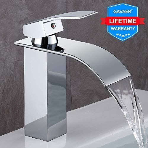 GAVAER robinet salle de bain, Design Moderne de Cascade...