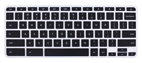 Silicone Keyboard Cover Skin for Acer Chromebook R11 CB3-131 CB5-132T, 2017 Acer Premium R11 Convertible,Acer Chromebook R13 CB5-312, Acer Chromebook 14 CB3-431, Acer Chromebook 15 CB3-531(Ombre Gray)