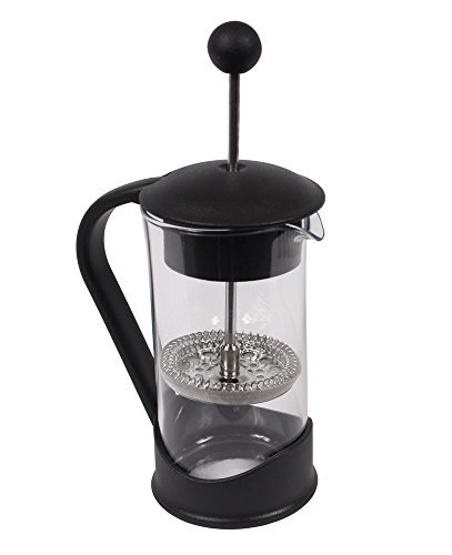Clever Chef - Caffettiera French Press di Dimensioni ridotte - Ideale per Il caffè mattutino - Massimo Aroma - Sistema di filtraggio Superiore - capacità 0,4 L
