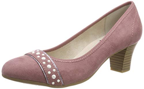 Jana Softline Damen 8-8-22466-22 Pumps, Pink (Mauve 503), 40 EU