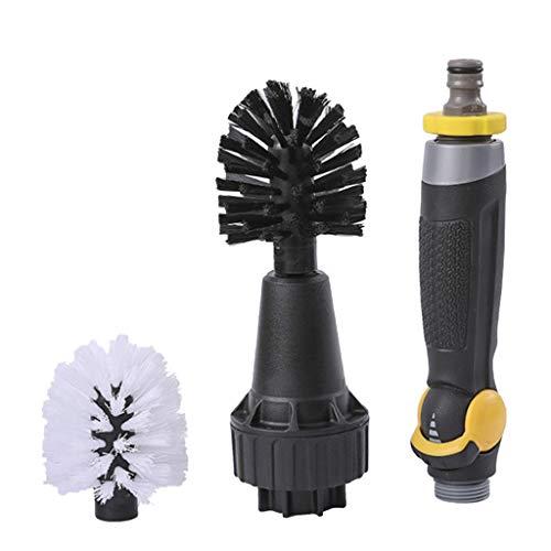 perfk Cepillo de Agua de Espuma de Cepillo de Lavado de Coches Totalmente Automático