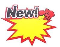 2927 PPLS 【ポップカードシリーズ】 POP 抜型カード イラスト Mサイズ 100枚 トゲ型 『New!』