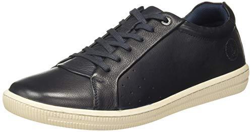 Hush Puppies Men Fuel Derby Blue Leather Formal Shoes-7 UK (8249718)