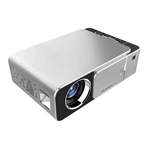 Mini Proyector Mini Proyector Lcd Lúmenes Proyector Led 3d Proyector De Cine En Casa Bluetooth Wifi Usb Hdmi Vga Misma Pantalla Proyector De Hogar Y Exterior (color: Color De La Foto Tamaño: Talla