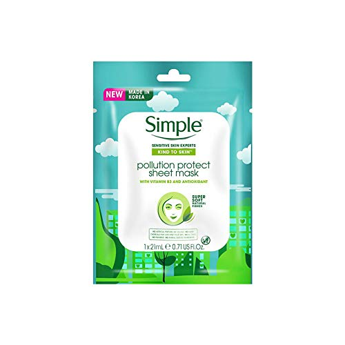 Simple Pollution Protect Sheet Mask