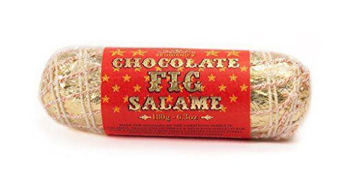 Photo of Seggiano Chocolate Fig Salame 180g – Vegan, Gluten Free, & High in Fibre – Made from Dottato Figs –
