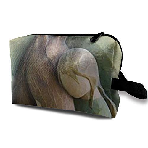 Willow Tree Quiet Strength Figur Männer & Frauen Kosmetische Reisetasche mit großer Kapazität, tragbare Kosmetiktasche Accory Aufbewahrungstasche