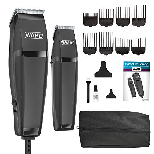 Wahl Clipper Corp Pro 14 Piece Styling Kit with Hair Clipper and Beard Trimmer for Total Body Grooming - Model 79450, Chrome