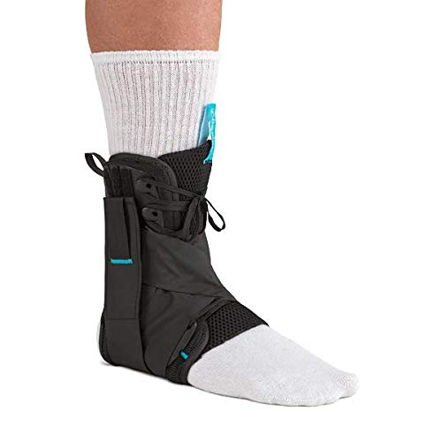 Ossur Formfit Ankle Brace with Figure 8 Straps - for Ankle Sprains, Strains & Chronic Instability - Figure 8 Straps Provide Additional Support by Limiting Range of Motion (Small)