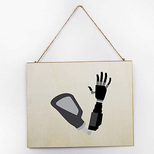 Placa de madera pintada a mano para regalo de cocina, sala de...