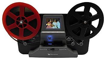 Wolverine 8mm and Super 8 Film Reel Converter Scanner to Convert Film into Digital Videos Frame by Frame Scanning to Convert 3 inch and 5 inch 8mm Super 8 Film reels into 720P Digital