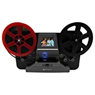 Wolverine 8mm and Super 8 Film Reel Converter Scanner to Convert Film into Digital Videos. Frame by Frame Scanning to Convert 3 inch and 5 inch 8mm Super 8 Film reels into 720P Digital Powered on with Reels