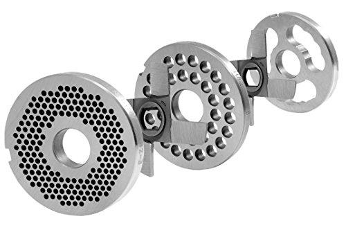 WolfCut H82 Lochscheibensatz 3MM + 8MM Bohrung + 2 Kreuzmesser + 1 Vorschneider System Unger Werkzeugstahl