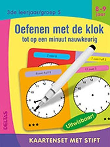 Oefenen met de klok tot op een minuut nauwkeurig (8-9 j.)