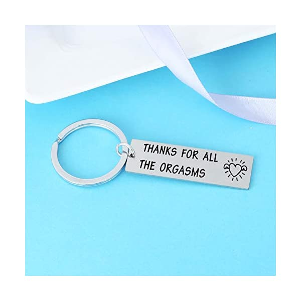 Funny Gifts For Boyfriend Funny Keychains for Men Humor Gifts For Husband