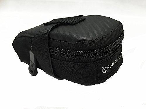 VeloChampion Sonic Pack de sillin para Bicicleta - Negra Bike Seat Pack - Black