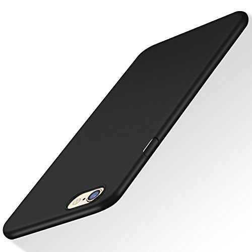 iPhone 6S Case TORRAS Fit Shell Hard Plastic Full Protective AntiScratch Resistant Cover Case for iPhone 6 or iPhone 6S Space Black