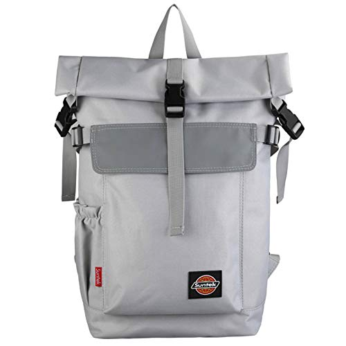 N\C Large-capacity Trendy Tooling Style Backpack Male Youth Travel Computer Backpack Street Personality Student School Bag