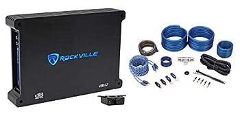 Rockville dB12 2000w Peak / 500w RMS Mono Car Amplifier + Amp Kit