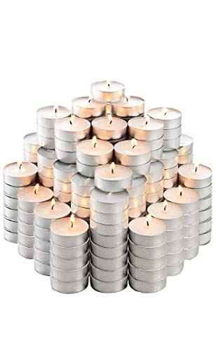 MAINSTAYS Unscented TeaLights 100 Pack