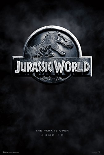Jurassic World (2015) Movie Poster 24 x 36' Inches , Glossy Finish (Thick): Chris Pratt, Bryce Howard Dallas