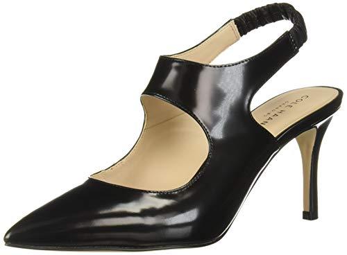Cole Haan Women's Liesel Pump (75MM) Mule, Black Leather, 8.5 B US