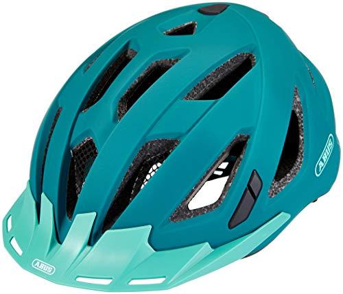 Abus Urban-I 3.0 Casco de Bicicleta, Unisex Adulto, Verde (Core Green), L (58-61)