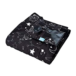 black fabric square with star shaped pattern, Airbnb packing list