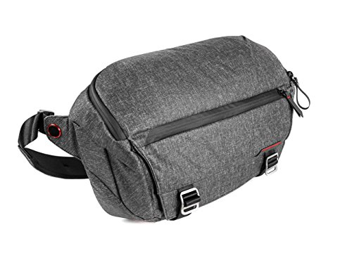 "Peak Design Everyday Sling Honda Carbón Vegetal - Funda (Camera Sling, Universal, Carbón Vegetal, Lienzo, Sintético, 33 cm (13""), 400 mm)"