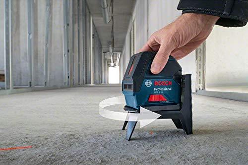 Bosch Professional Kreuzlinienlaser GCL 2-50 (5x AA Batterien, Arbeitsbereich: 50m, im Handwerkerkoffer) - 4