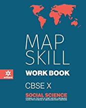 Map Skill Workbook Social Science Class 10th