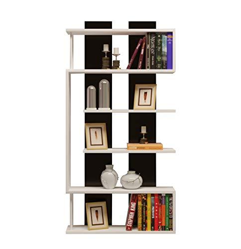 SATURN Bibliothèque - Étagère de Rangement - Étagère pour livres - Étagère pour bureau / salon par le design moderne …