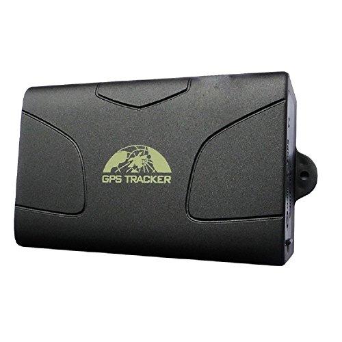 GARY&GHOST GPS Tracker -TK-104 Localizzatore Satellitare Allarme Antifurto per Automobile Vettura Macchina Veicolo Monitoraggio In Tempo Reale per Auto Moto Imbarcazioni Gsm Gprs Tracking
