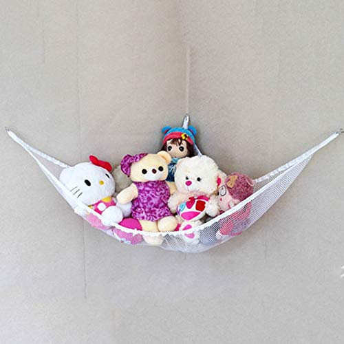 VIOYO Baby Bedroom Mesh Bag Child Toy Storage Hammock Suction Cup Children'S Home Decoration Accessories