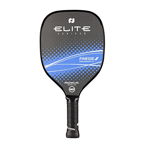 Pickle-Ball, Inc. Elite Pickleball Paddle (Power, Finesse, Skill) (Finesse II - Blue)