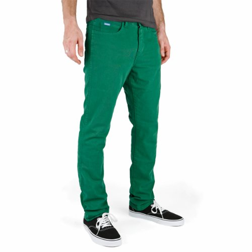 Superslick Tight Color Pant Slim Jeans Verde Verde Green