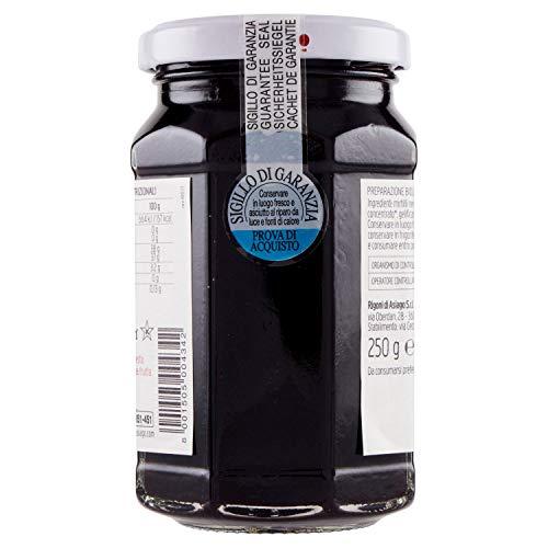 フィオールディフルッタフルーツスプレッドブルーベリー(無加糖)250g