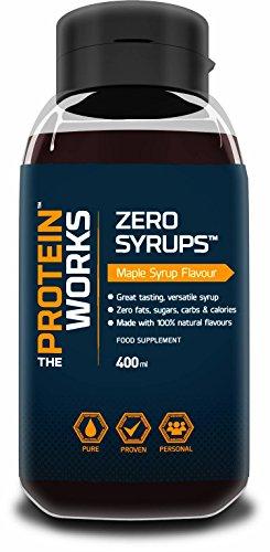 The Protein Works Alimenti Zero Syrups Strawberry, 400 ml