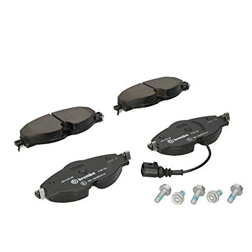 BREMBO Bremsbeläge + WAKO für AUDI A3 8V SEAT LEON 5F VW GOLF 7 PASSAT 3G vorne