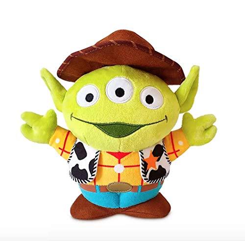 Disney Store, Toy Story Alien Pixar Remix Muñeca de peluche suave – Woody – 9 1/2