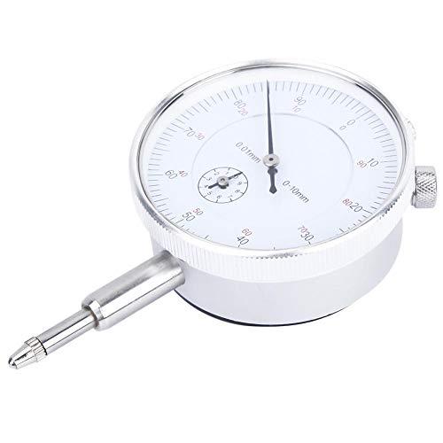 Messuhr,Jadpes Mechanische Messuhr, 0,01 mm 0-10 mm Mechanische Messuhr Testanzeige Messuhr Messgerät Messwerkzeug Messuhr/Anzeige Genauigkeit