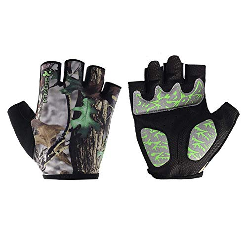 Nelnissa Gym Gloves Men Women Body Building Half Finger Fitness Anti-slip Gloves