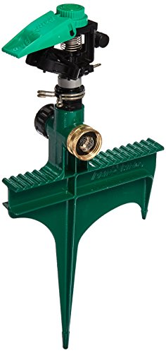 Rain Bird P5RLSP Plastic Impact Sprinkler on Large Metal...