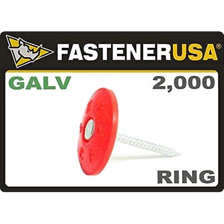 Valex 1000pz nails roofing cardboard head 30mm 2x1,25mm ga18 1,25x1mm nail gun