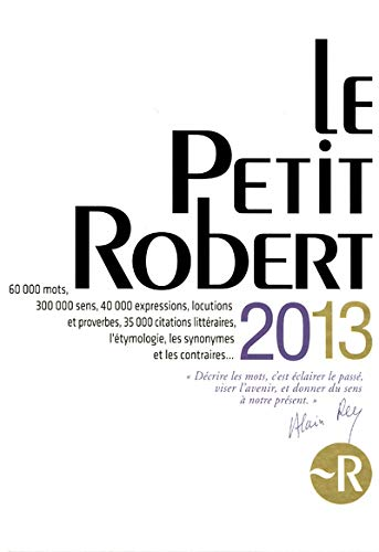 PETIT ROBERT 2013 (GF)