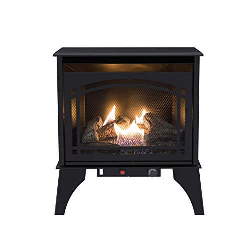 Pleasant Hearth VFS2-PH20DT 20,000 BTU 23.5 in. Compact Gas Vent Free Stove
