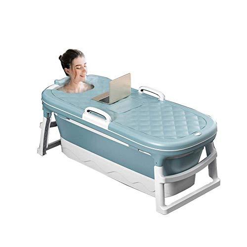 XDJ Bañera Bañera Plegable Cubo De Baño para Adultos, Adulto Portátil para...